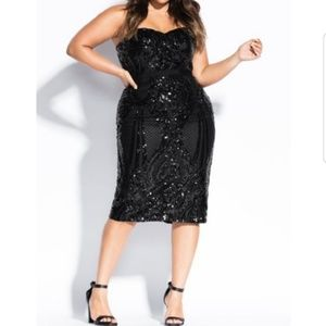Chity Chic Sequin Dress